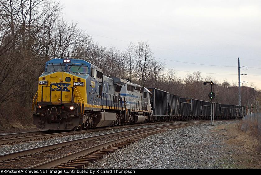 CSX 7328 on CSX K374-xx