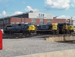 CSX Cumberland Locomotive Shops