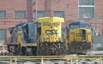 CSX 5863 & 364