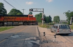 BNSF 5753 on CSX U994-XX