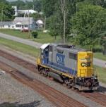 CSX 2791 on CSX C935-06
