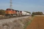 BNSF 5467 on CSX Q387-10