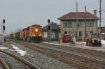 BNSF 5743 on CSX N954-XX