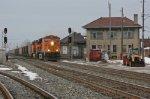 BNSF 5743 on CSX N954-XX