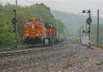 BNSF 5660 on CSX Q389-14