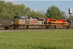 KCS 4022 & 4057 on CSX Q389-20