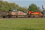 KCS 4022 & 4057 on CSX Q389-20
