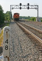 BNSF 9245 on CSX Q637-05