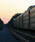 CSX 824 on CSX L299-04, into the Sunset