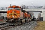 BNSF 5710 on CSX Q393-27