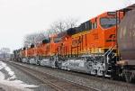 BNSF 7392 on CSX Q393-20