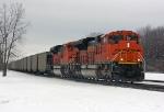 BNSF 9155 on CSX N859-26