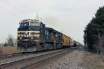 NS 9754 on CSX Q389-26