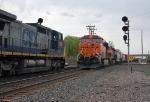 BNSF 5907 on CSX Q380-30 & CSX 7338 on K635-XX