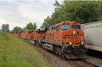 BNSF 5835 on CSX N817-15