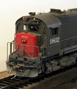 Cab end detail of SP HO scale DH643
