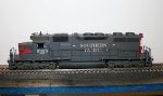 SP SD39 5325 in HO Scale