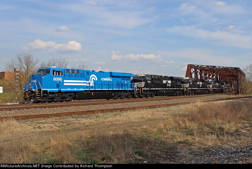 NS 8098 on NS 578