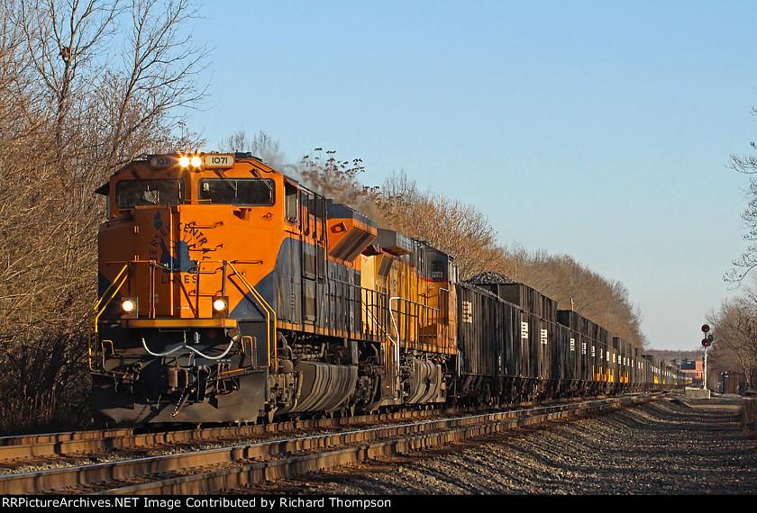 NS 1071 on NS 418