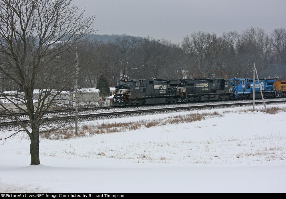 NS 9528 on NS 15K