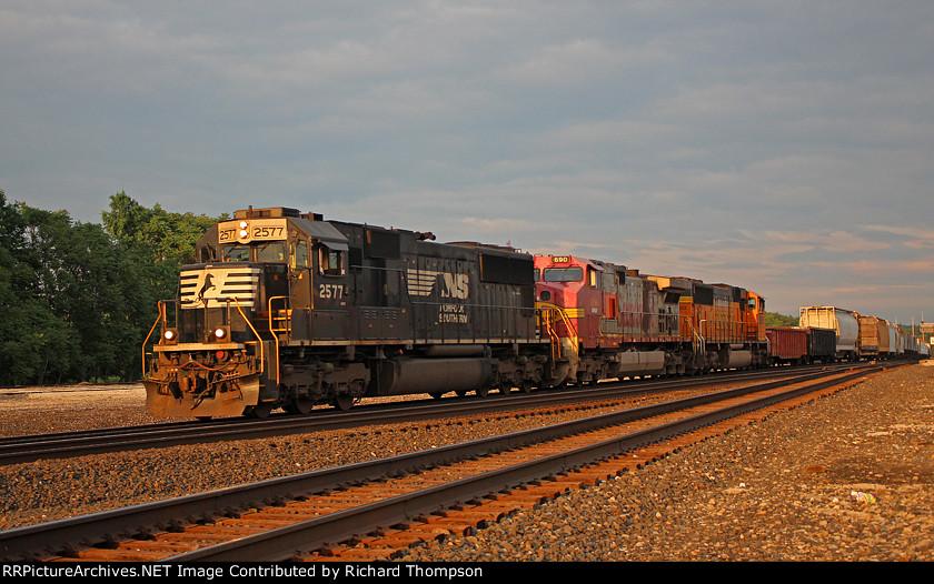 NS 2577 on NS 35N