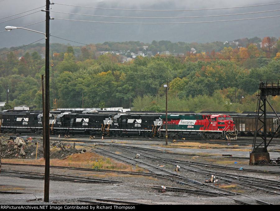 FXE 4696, NS 5900, NS 6343 & NS 6339