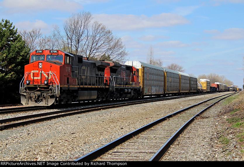 CN 2706 on NS 184