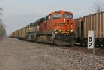 BNSF 5975 on NS 419