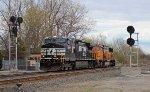 NS 9788 on NS 288