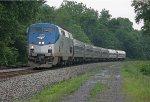 AMTK 135 on NS 04T (Amtrak 42, the Pennsylvanian)