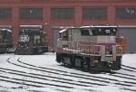 MBTA 1121 & NS 5028