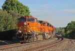 BNSF 4972 on NS 66Z