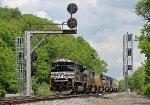 NS 1166 on NS 17M