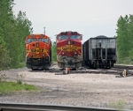 BNSF 708 & 8975