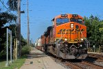BNSF 7410 on NS 206