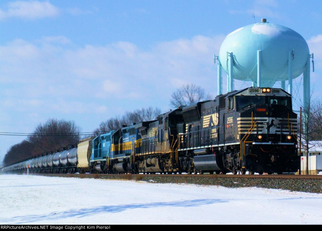 NS 68Q Ethanol with DM&E Commemorative and NREX Leaser