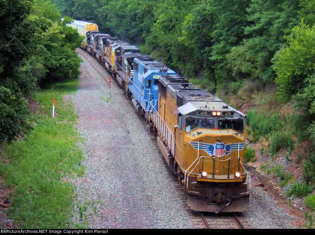 UP 4191 NS Train 212