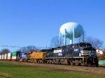 NS 8961 UP 7799 UP 2002 (Salt Lake 2002) NS Train 212