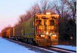 RMSX 1001 Pandrol Jackson Inc. Rail Grinder CSX Train W047-08