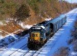 CSX 6025 W001-14 Geometry Train