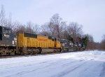 UP 4698 NS Train 960 Lite Power