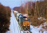 CSX 4773 X551 Detour Train