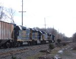 CSX 2268 GP30 Road Slug and Mother Q439