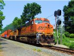 BNSF 6026 & BNSF 8805 NS Train 22V