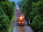 BNSF 940 CSX Train S439