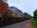 KCS 4614, BNSF 635 Santa Fe Warbonnet, NS 8000 NS 66Q Ethanol Loads
