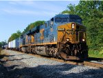 CSX 733 R158 Hurricane Irene Detour Train