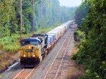 CSX 38 R004 Hurricane Irene Detour Train