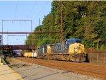 CSX 293 O030 Work Train