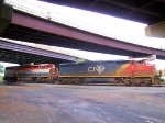 CN Family Cowl Units - CSX K684-10 Ethanol Train Power